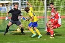 Fotbalová A třída: Vimperk - Semice 3:1.