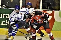 Vimperští hokejisté končí sezonu po porážce na nájezdy.