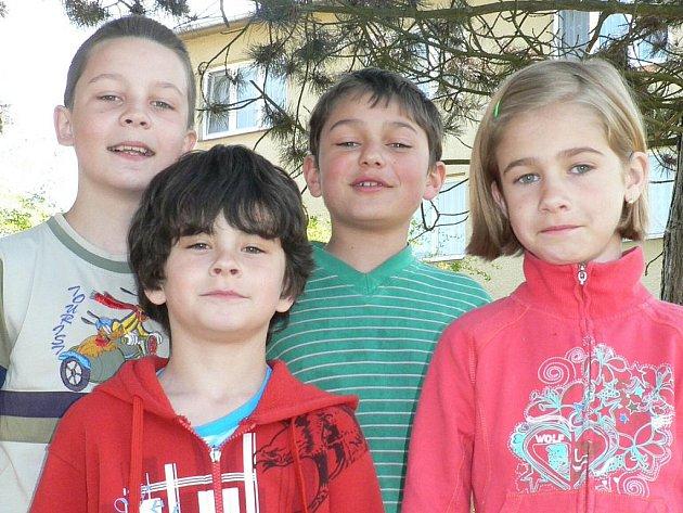 Děti ze Základní školy v Netolicích.