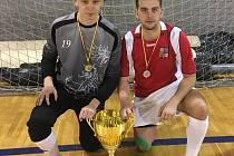 Radek Suchý a Petr Pasecký se stali Mistry Evropy v sálovém fotbale do 21 let.