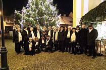 Vánoční koncert prachatické České písně.
