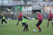 Přípravný fotbal: Prachatice - Osek 3:4.