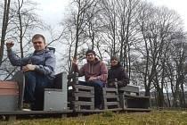 Za pořádáním vimperského majálesu stojí od počátku především tato trojice. Zleva Šimon Blaschko, Michal Pluščenko a Ondřej Janda.