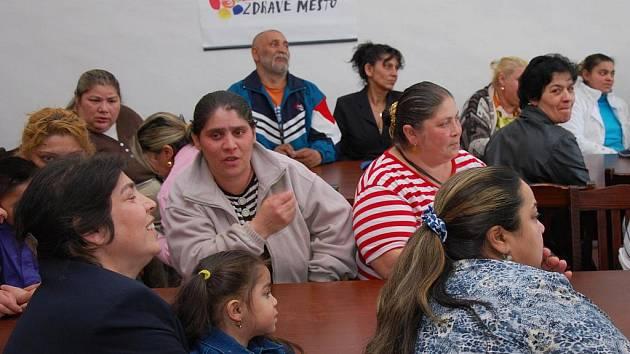 Vedení města diskutovalo se zástupci Romů