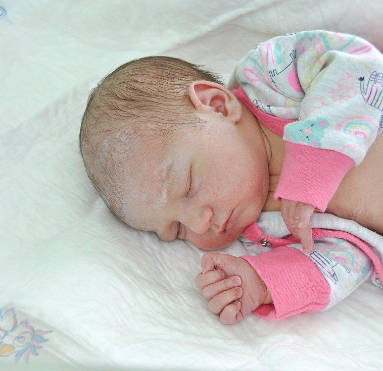 AMANDA KOČÍ, POPELNÁ. Narodila se v sobotu 6. července v 16 hodin a 23 minut ve strakonické porodnici. Vážila 3410 gramů. Má brášku Alana (2 roky). Rodiče: Martina a Jakub.
