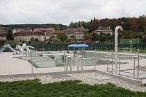 Areál vodních sportů je hotov zatím z jedné pětiny.
