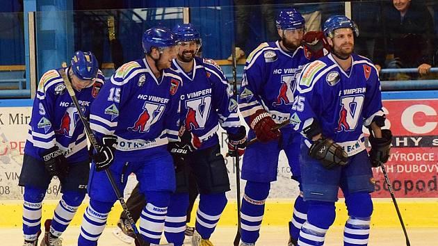 Vimperští hokejisté podlehli Hluboké 5:7.
