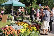 Chlumanská trhy byly jako tradičně v obležení návštěvníků.