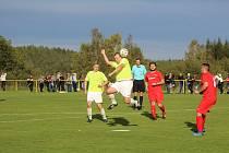 Fotbalová I.B třída: Stachy - Střelské Hoštice 0:1.