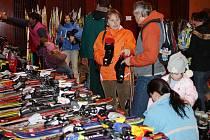 Bazar sportovních potřeb. Ilustrační foto