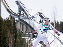 TALENT. Barbora Havlíčková si v Lahti projela i turistické trasy.