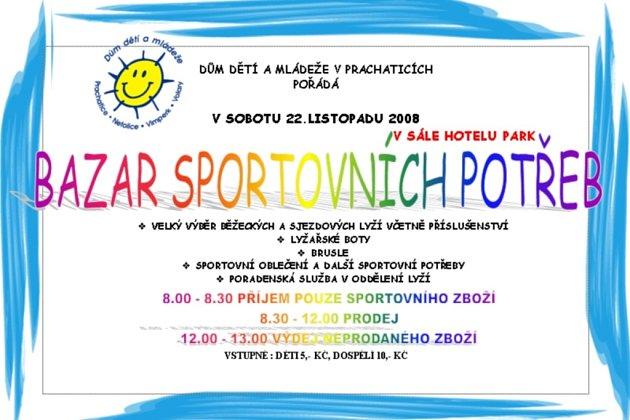 Bazar sportovních potřeb