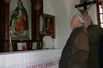Kaple sv. Terezie v Budkově.