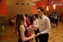 Vimperská taneční lekce v rytmu salsy.