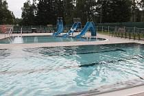 Areál vodních sportů ve Vimperku.