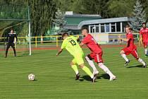 Fotbalový krajský přebor: Tatran Prachatice - Osek 3:1 (1:0).