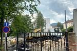 Budova, hlediště i pláno původního Letního kina v Prachaticích už jsou minulostí.
