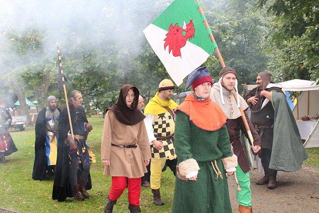 Už osmé středověké slavnosti se konaly v sobotu ve Zdíkově.