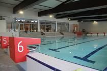 Prachatický plavecký bazén je těsně před dokončením.