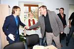 Poslanec parlamentu Ondřej Babka otevřel v Prachaticích kancelář.