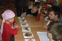 Zápis do školy v Borových Ladách.