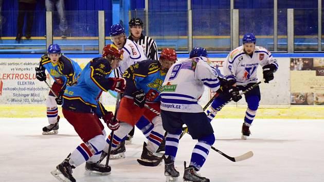 Vimperští hokejisté přehráli Humpolec 4:2.