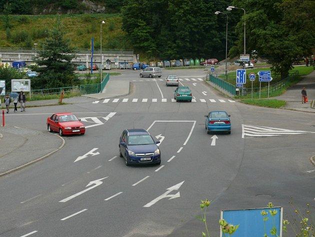 Vimperští by měli rádi kruhovou křižovatku hotovu již příští rok.