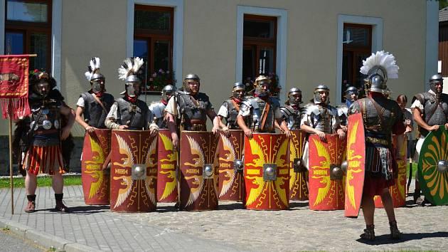Slavnosti v obci Kvilda.