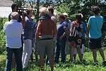 Návštěva prezidenta Miloše Zemana v Hošticích u Volyně.