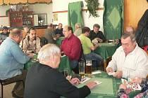 První letošní mariáš na Prachaticku se hrál v restauraci U Medka.