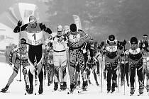 Závodníci vyrážejí do 31. ČT Šumavského skimaratonu.