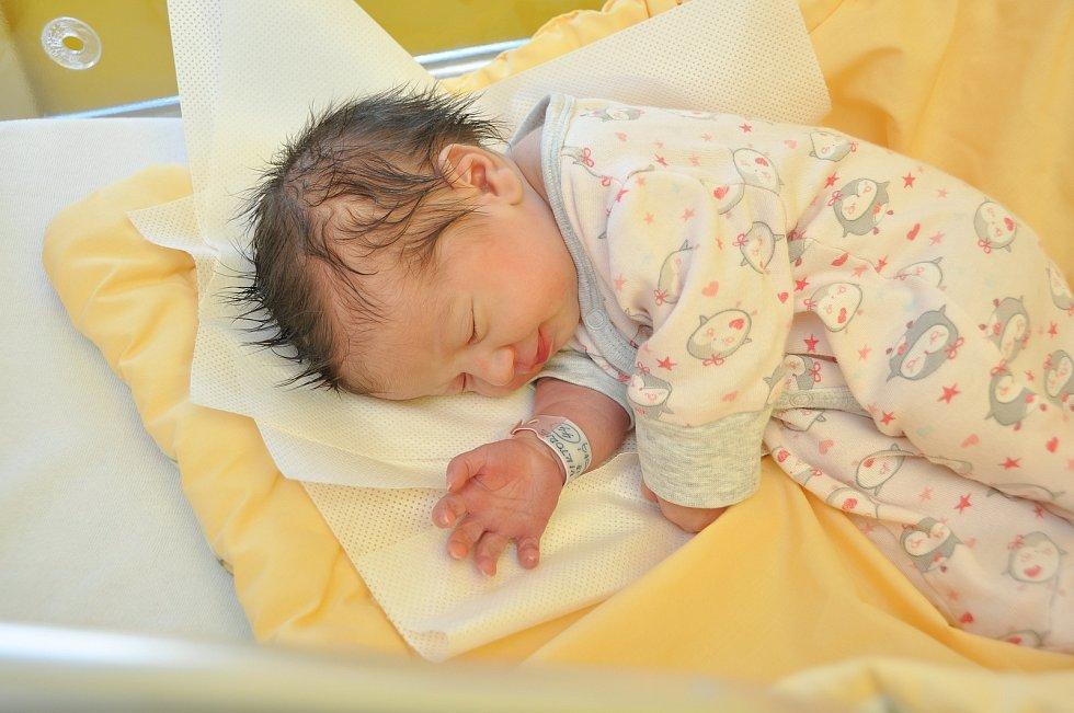 Čtyřletý Davídek z Vimperka má od soboty 24. února malou sestřičku. Holčička Viktorie Sládková se narodila ve strakonické porodnici v 10  hodin a 35 minut. Vážila 2840 gramů.