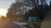 Ještě před oficiálním otevřením jsme měli možnost projet opravený úsek silnice mezi Němčicemi a Češnovicemi.