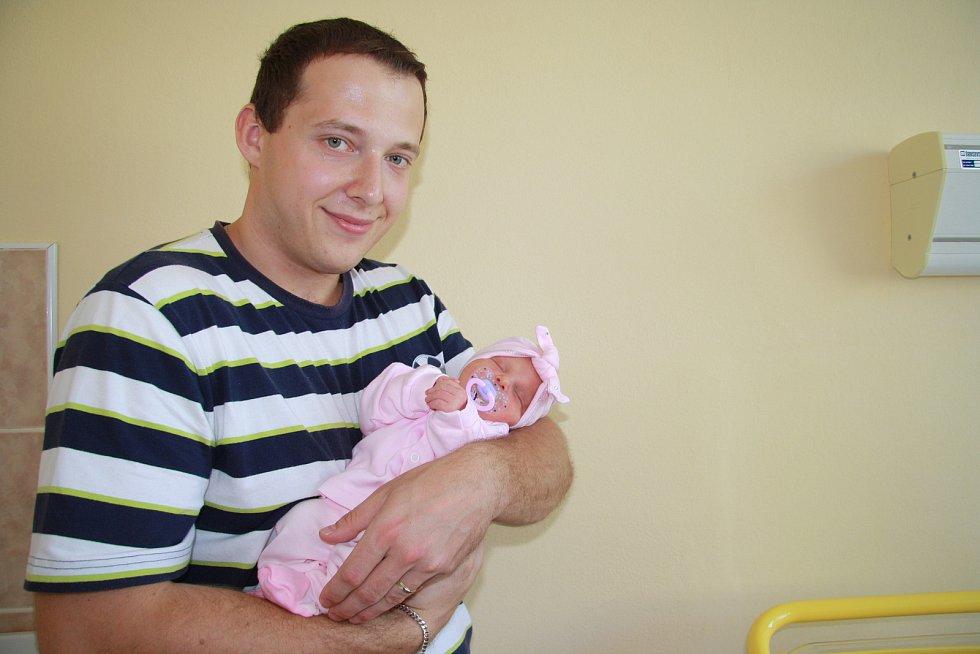 SIMONA ONDRÁŠKOVÁ, PRACHATICE.Narodila se ve čtvrtek 11. července v 8 hodin a 33 minut v prachatické porodnici. Vážila 2800 gramů. Rodiče: Jana a Jan Ondráškovi.