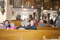 Volarští slavili posvícení vyprávěním o historii a prohlídkou kostela.