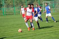 Fotbalový kraj: Lažiště - Třeboň 1:1.