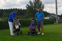 Jihočeská senior golf tour pokračovala 10. turnajem.