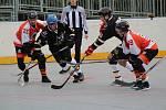 regionální liga hokejbalistů: HBC Prachatice - ŠD Písek B 1:9.