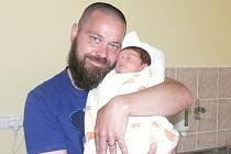 Miroslav Kolafa  se v prachatické porodnici narodil ve čtvrtek 28. dubna třicet minut po poledni. Vážil 3600 gramů a měřil 55 centimetrů. Rodiče Petra a Miroslav si syna odvezou domů, do Záblatí.