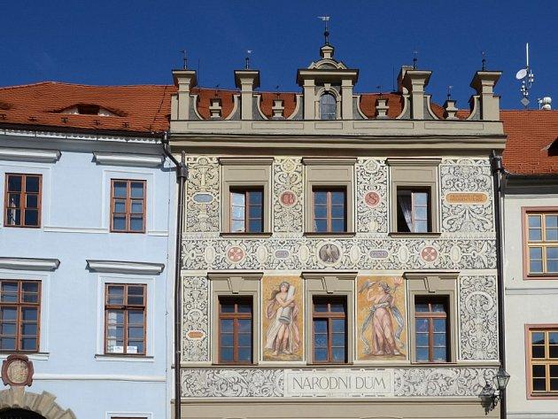 Národní dům v Prachaticích.