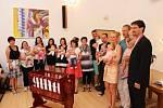 Místostarosta Ladislav Touš přivítal ve čtvrtek 22. června nové občánky města.