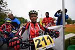 Vodník hostil finálový závod Šumavského poháru bikerů v mládežnických kategoriích.