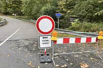 Z obchvatu na Lázně sv. Markéty je zákaz vjezdu silnice se opravuje.