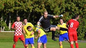 Fotbalová A třída: Velešín - Vimperk 0:4.