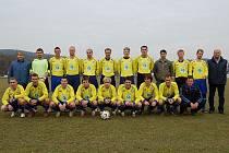 Mužstvo SK Čkyně pro jaro 2008.