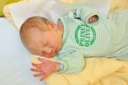 Daniel ILIEV, Volary. Narodil se 25. listopadu v 9.17 hodin, vážil 3150 gramů. Sourozenci: Lukáš (14) a Adam (11). Rodiče: Klára a Lukáš.