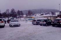 Středeční ráno na přechodu Freyung.