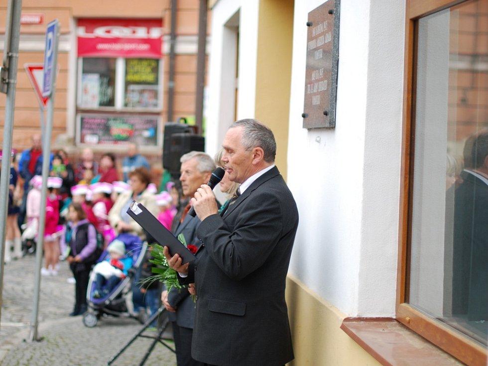 Oslavy osvobození ve Vimperku.