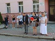 Mladí zdravotníci z jihu Čech se sjeli na krajské kolo soutěže do Prachatic.