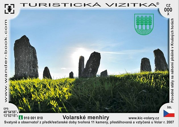 Turistická vizitka zVolar.